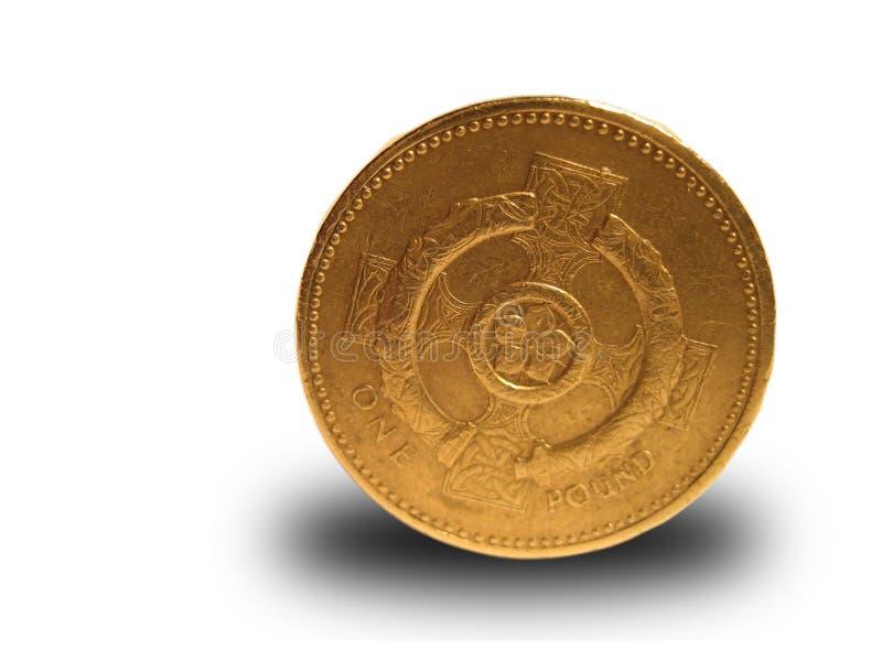 Download Enkelt pund arkivfoto. Bild av guld, konung, pund, affär - 502456