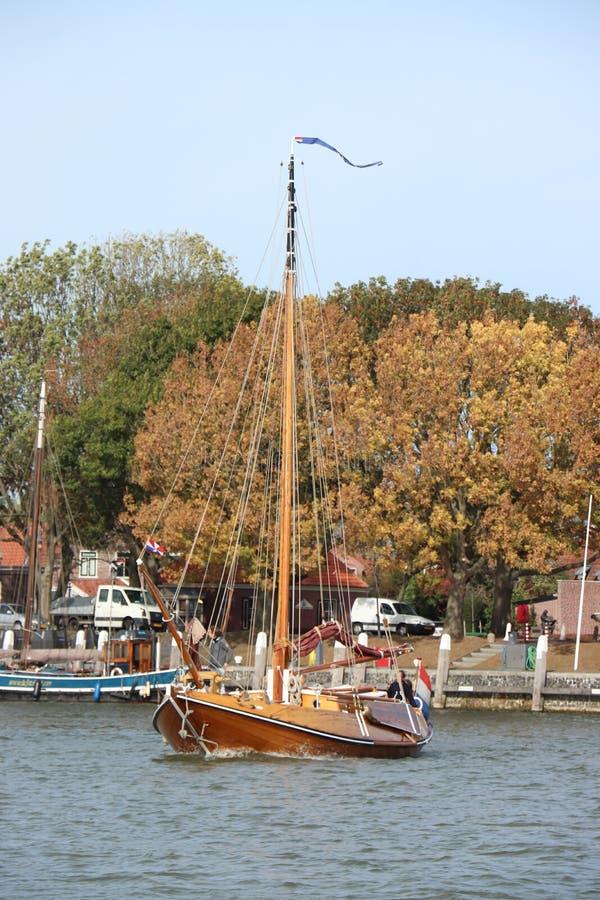 Enkhuizen, οι Κάτω Χώρες - 12 Οκτωβρίου 2018: Πύλη στο λιμάνι Enkhuizen στοκ εικόνες με δικαίωμα ελεύθερης χρήσης