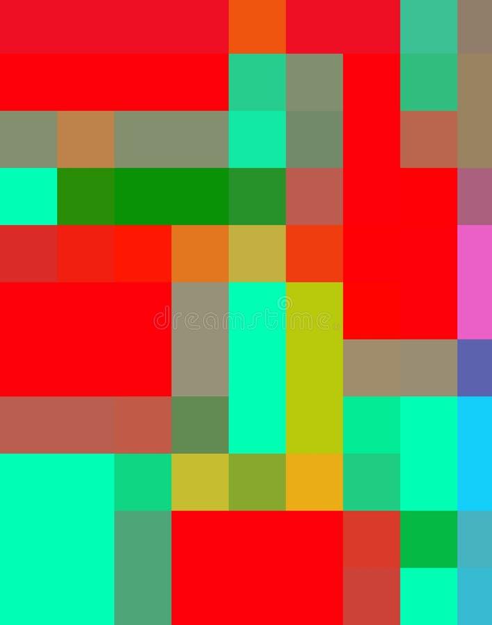 Download Enkla fyrkanter 5 stock illustrationer. Illustration av form - 998784