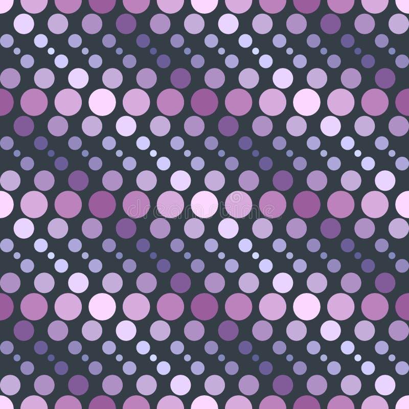 Enkla geometriska cirklar för modell 2b stock illustrationer