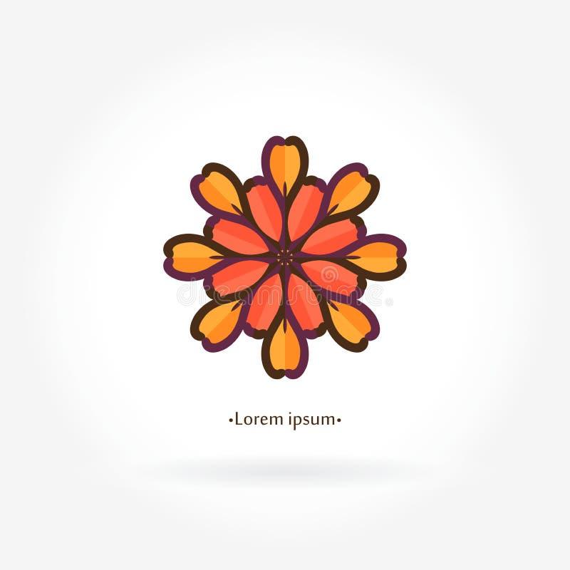 Enkla geometriska logoer Företagslogo, fläck, emblem och beståndsdel vin vektor illustrationer