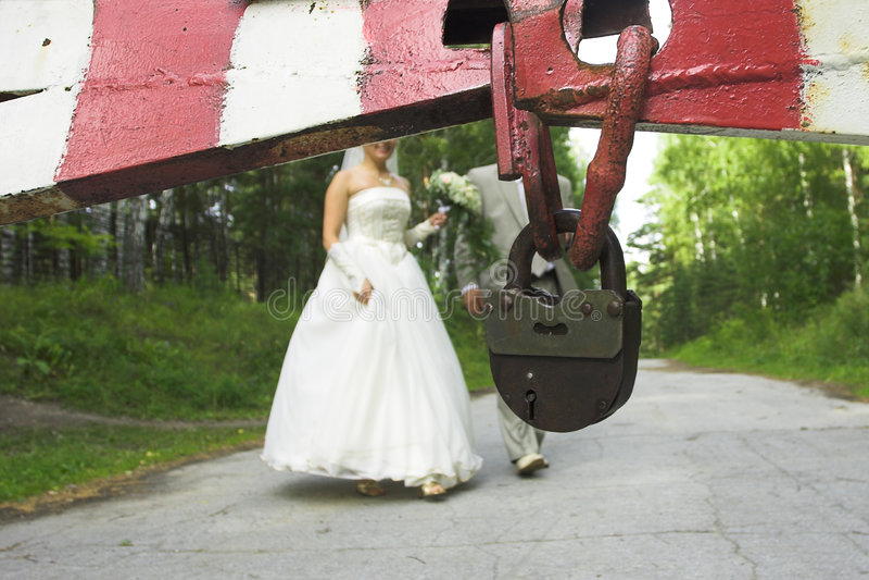 Enlaces del matrimonio imagen de archivo