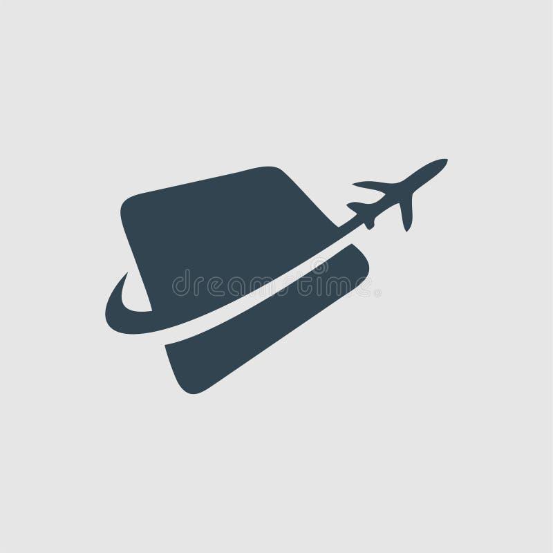 Enlevez l'inspiration de logo de monogramme illustration libre de droits