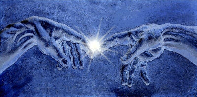 Enlightenment - Idea - Religion stock illustration