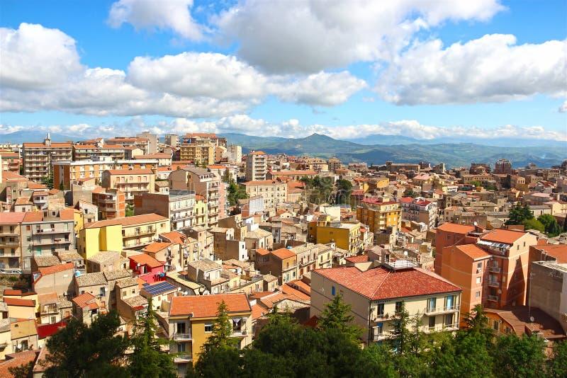 Enna, Sicilië, Italië stock fotografie