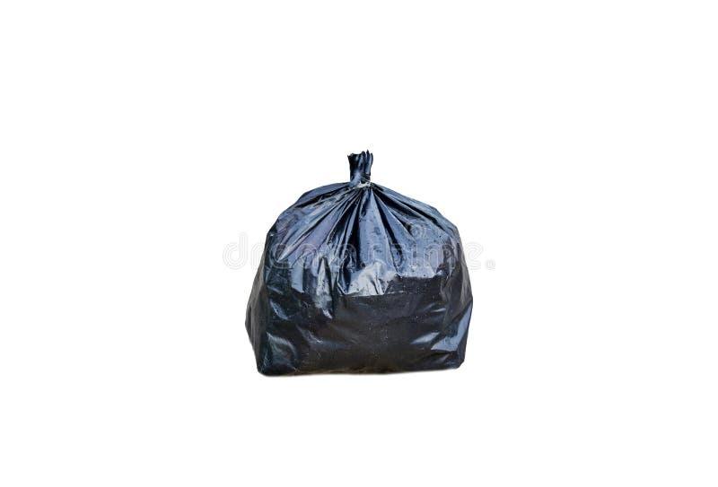 Ennegrezca el bolso de basura imagen de archivo libre de regalías