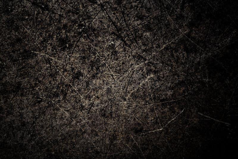Ennegrezca el fondo del metal La superficie de la cacerola al horno Fant imágenes de archivo libres de regalías