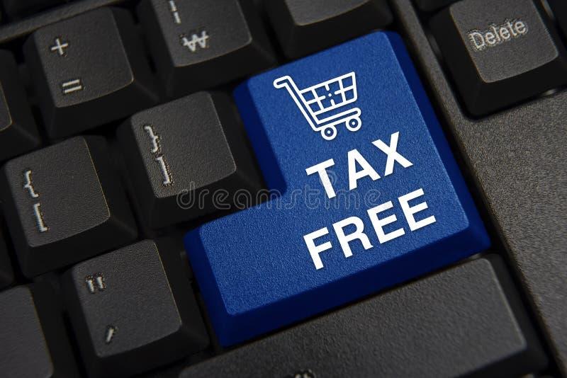 Ennegrezca el primer del teclado de ordenador Concepto exento de impuestos fotos de archivo libres de regalías