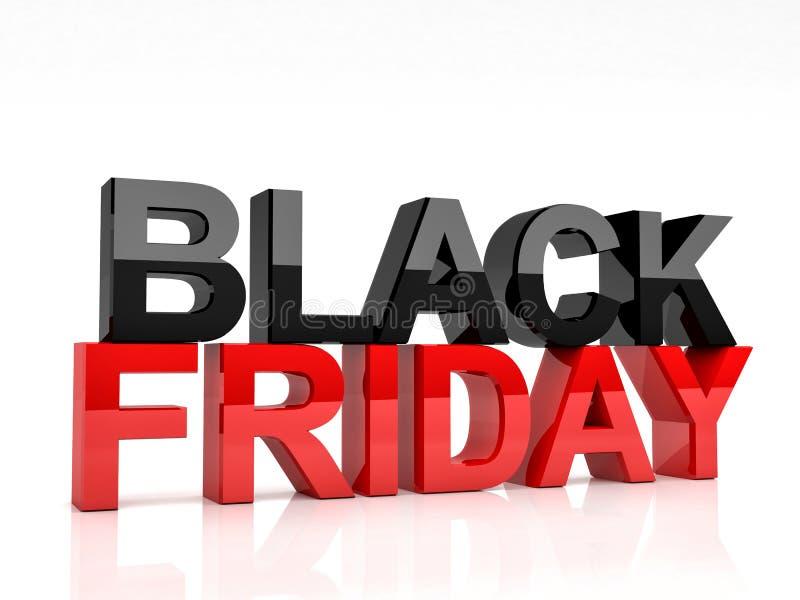 Ennegrezca viernes stock de ilustración