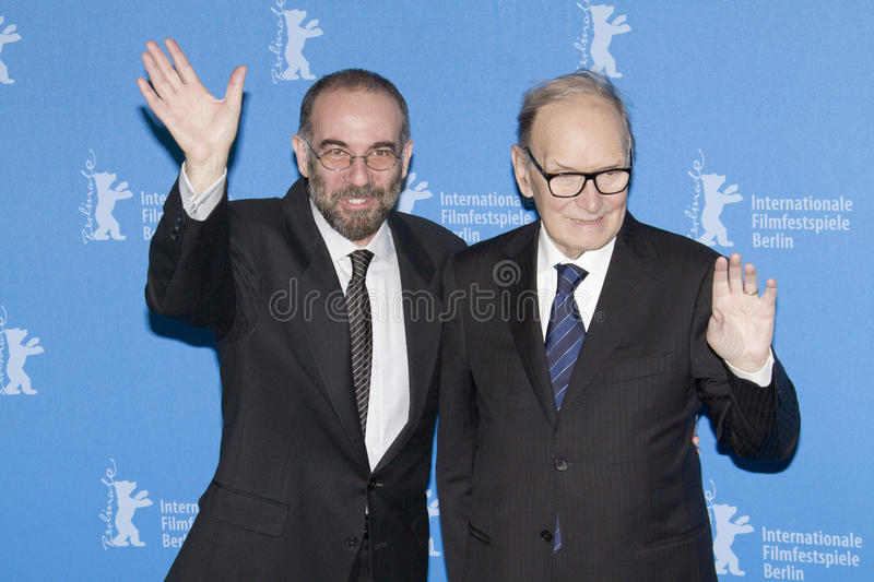 Download Ennio Morricone And Giuseppe Tornatore Editorial Image - Image: 30449245