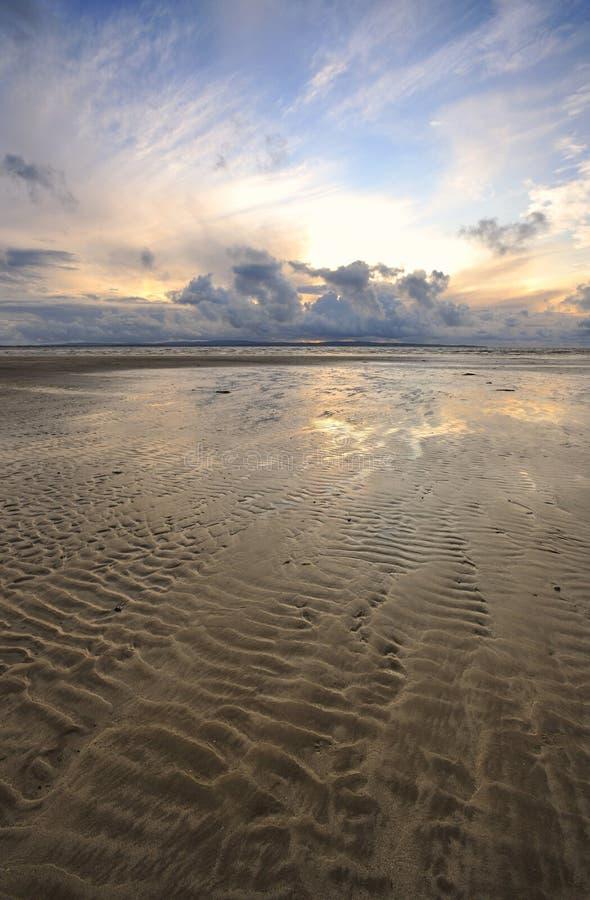 Enniscrone Beach royalty free stock photos