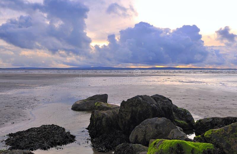 Enniscrone Beach stock image