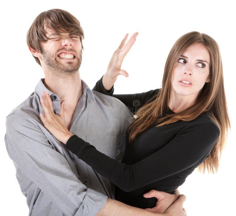 Ennui de couples images stock
