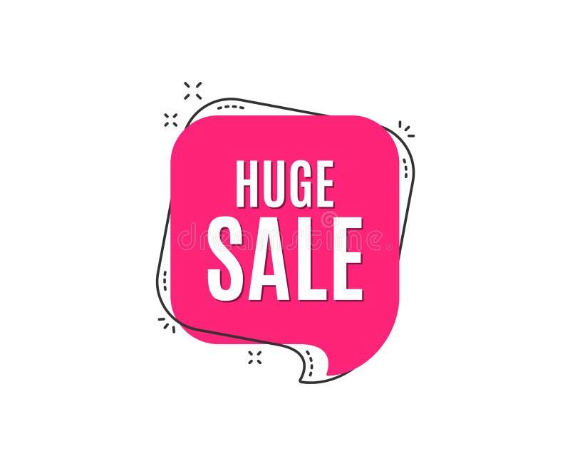 enorm försäljning Tecken för pris för specialt erbjudande stock illustrationer