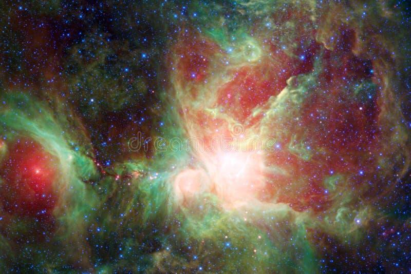 Enorm galax i yttre rymd Starfields av ändlöst kosmos fotografering för bildbyråer