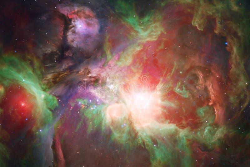 Enorm galax i yttre rymd Starfields av ändlöst kosmos arkivfoto