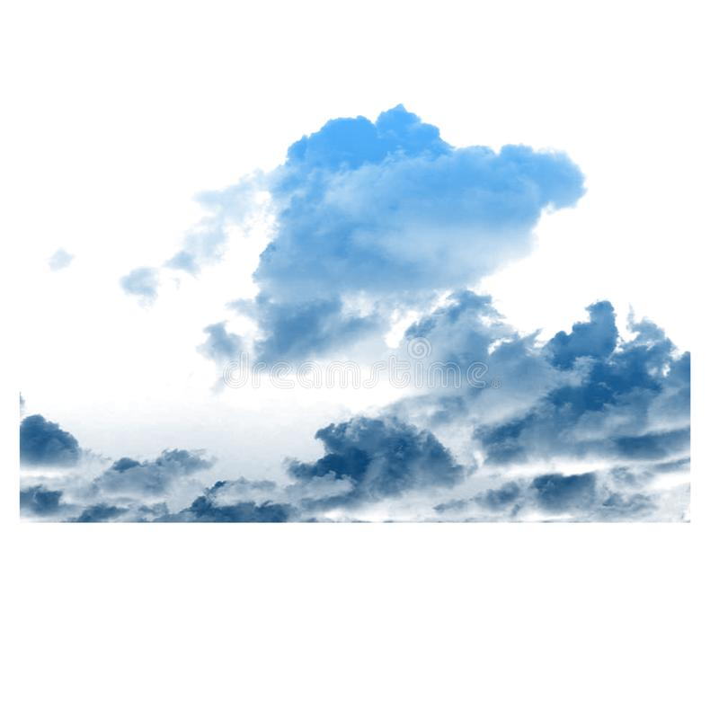 Enorm molngrund i himmel royaltyfri fotografi