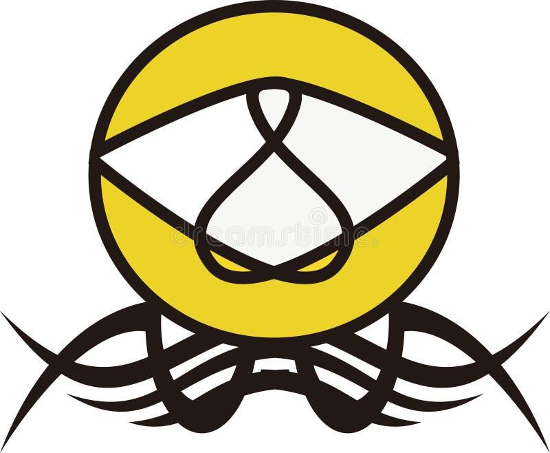 Enorm ny logotyp royaltyfria bilder