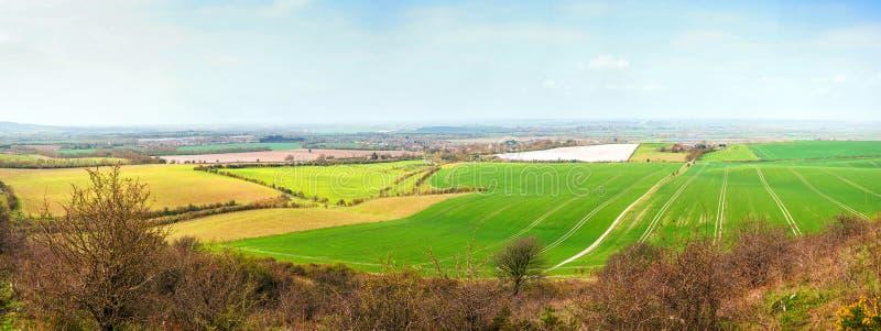 Enorm panoramalandschap met ultra hoge resolutie royalty-vrije stock fotografie