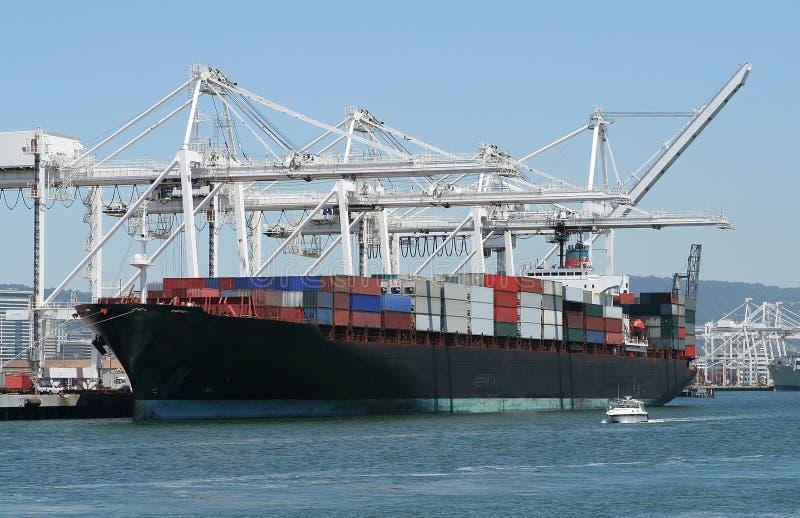 enorm ship för last royaltyfri bild