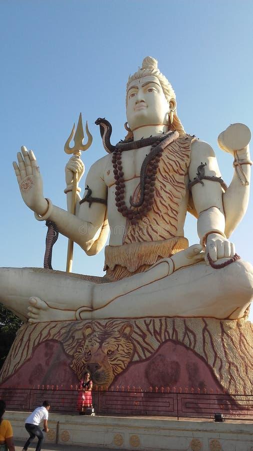 Enorma Lord Shiva arkivfoto
