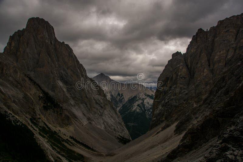Enorme Meningen van de Pas van Rocky Mountain en van Cory royalty-vrije stock afbeeldingen