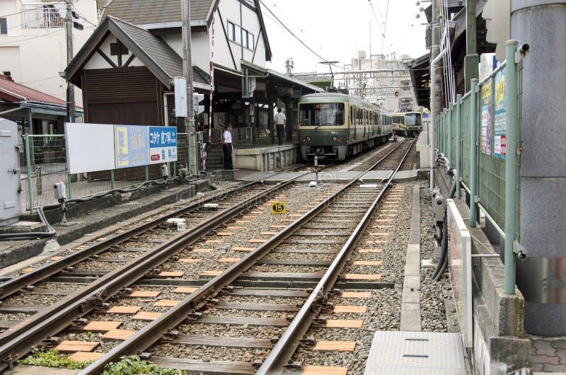 Enoshima station royaltyfri foto