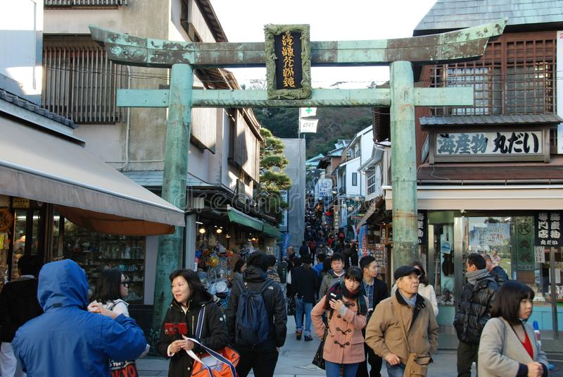 Enoshimaeiland royalty-vrije stock fotografie