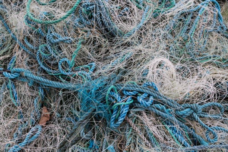 Enredo del ` s del pescador imagenes de archivo