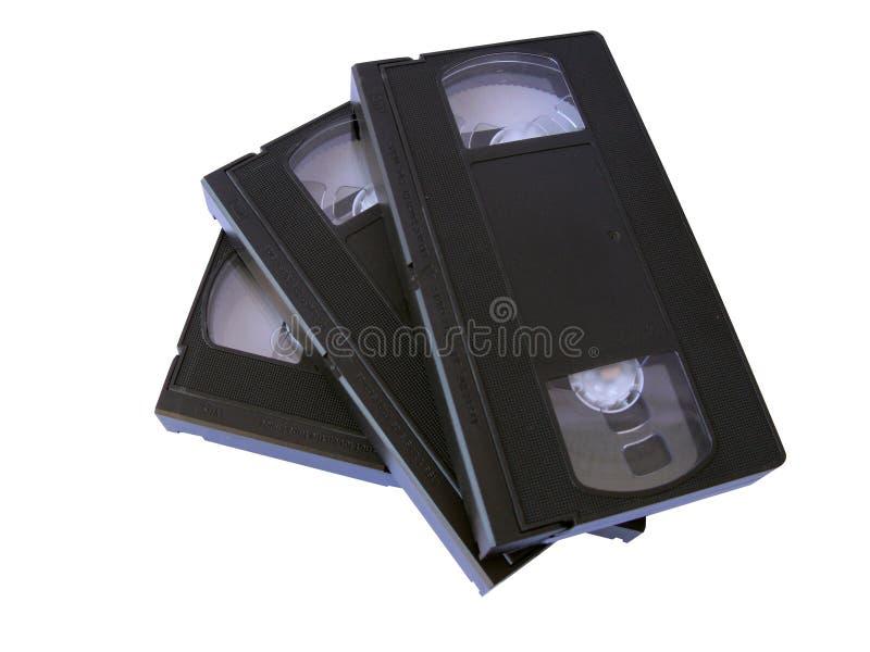 enregistre VHS sur bande photo libre de droits