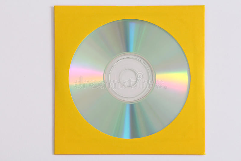 Enregistrement de données CD images stock