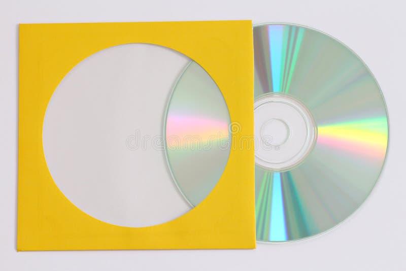 Enregistrement de données CD photos libres de droits