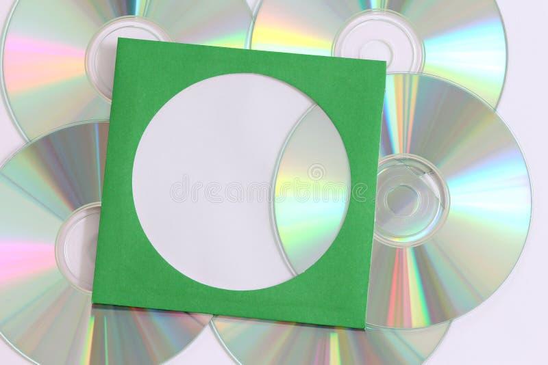 Enregistrement de données CD images libres de droits
