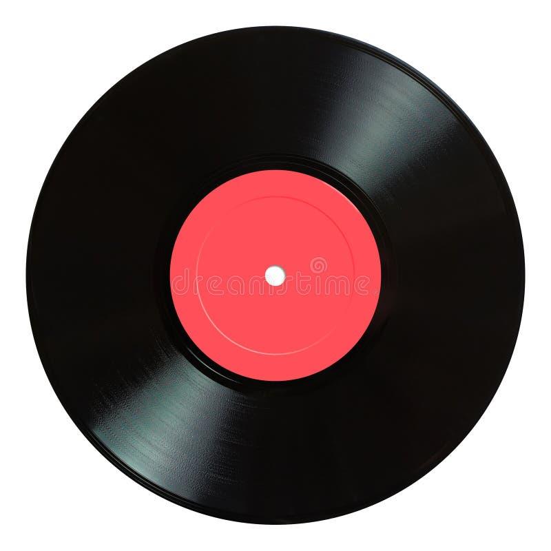 Enregistrement de vinyle. images libres de droits