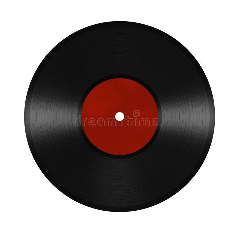 Enregistrement de vinyle illustration libre de droits