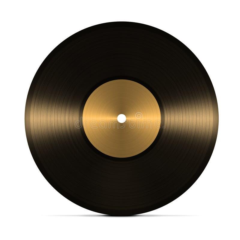 Enregistrement de vinyle illustration de vecteur