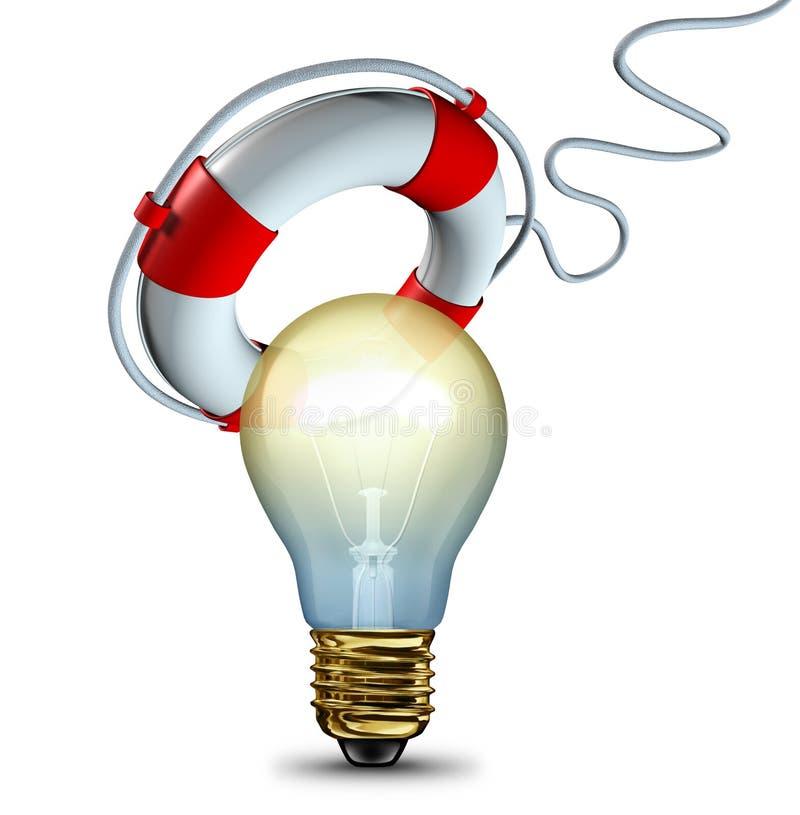 Enregistrer votre idée illustration stock