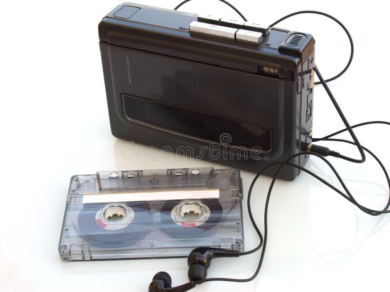 Enregistreur à cassettes de musique photos stock
