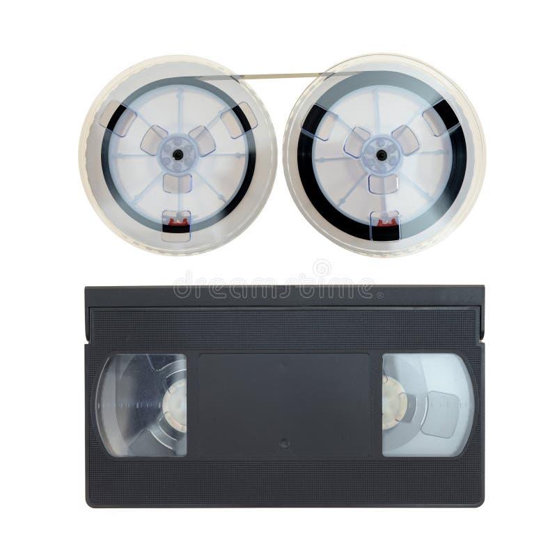 Enregistreur à cassettes de VHS photos libres de droits