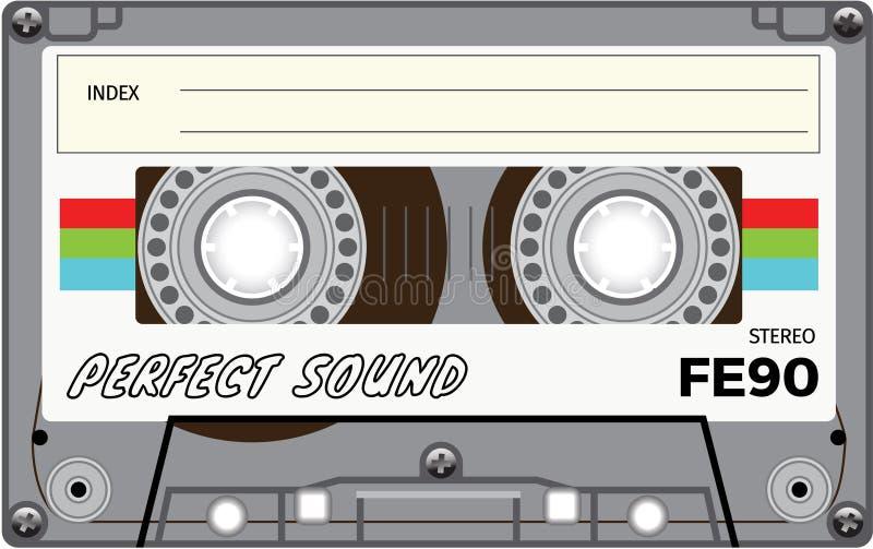 Enregistreur à cassettes de vintage photographie stock libre de droits