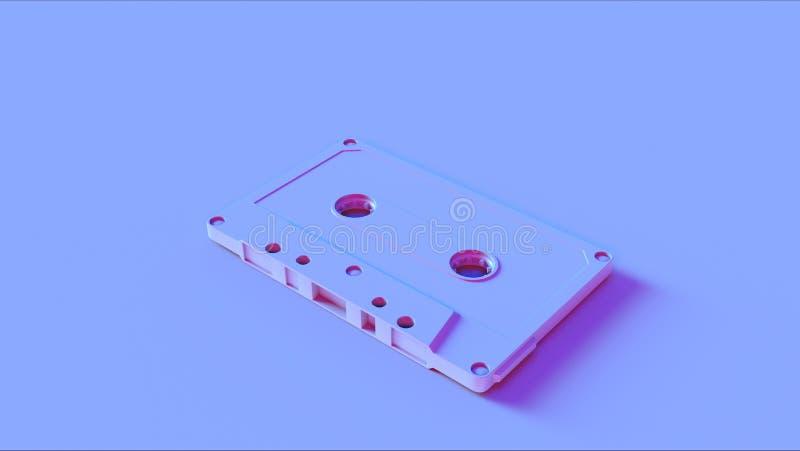 Enregistreur à cassettes rose bleu photos libres de droits