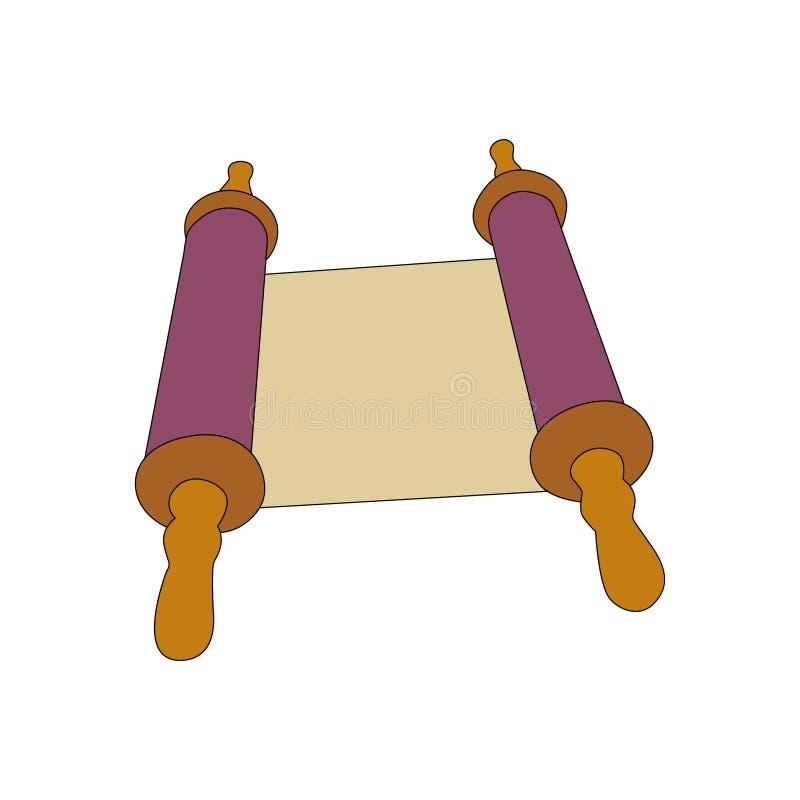 Enrole o papel ilustração royalty free