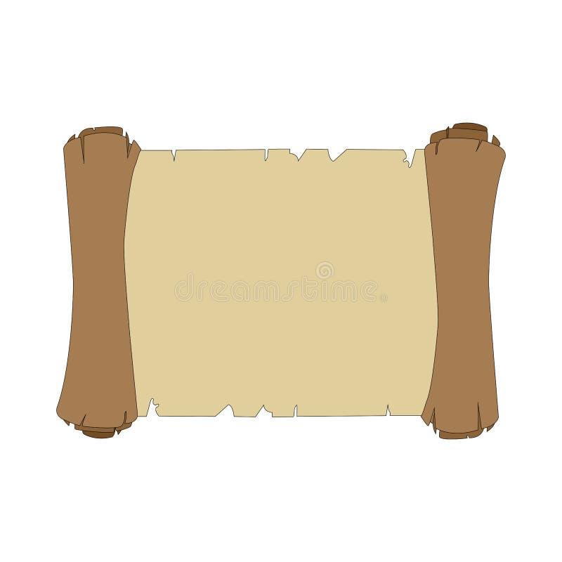 Enrole o papel ilustração stock