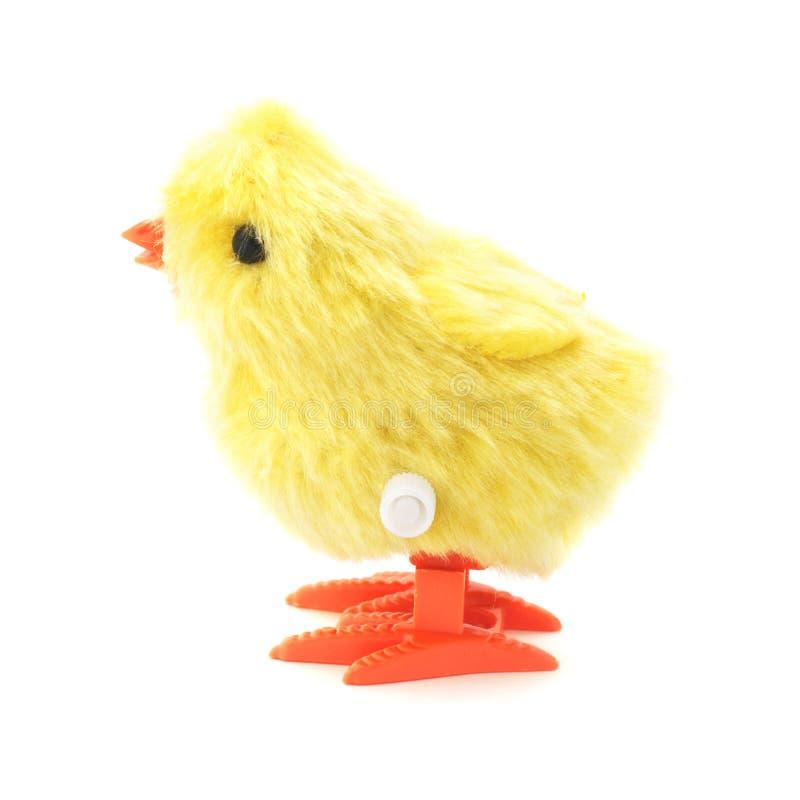 Enrolle para arriba a Toy Chick imágenes de archivo libres de regalías