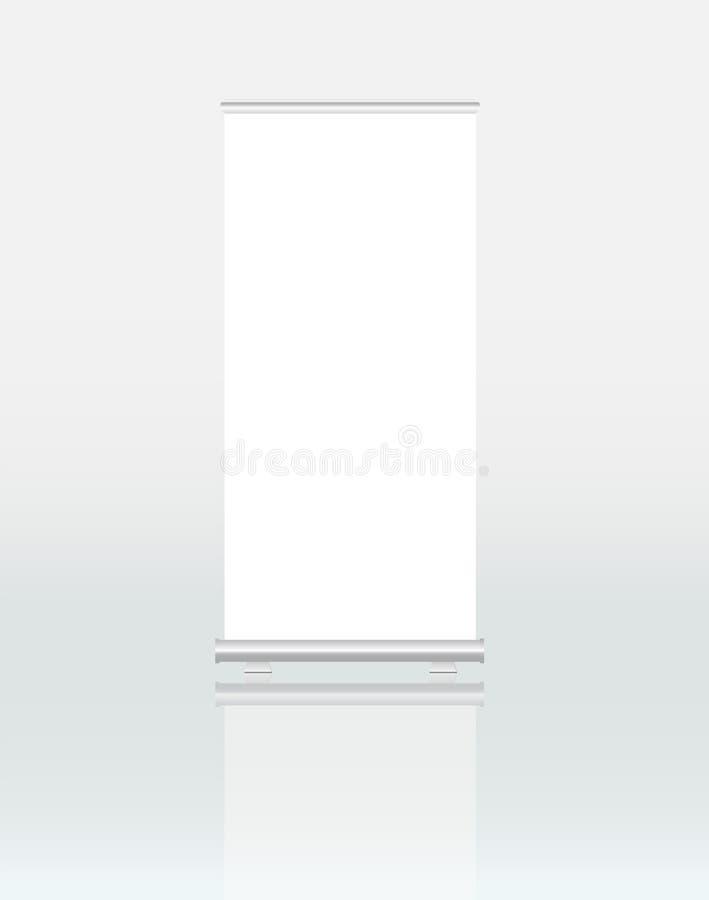 Enroulez l'affichage de bannière illustration libre de droits