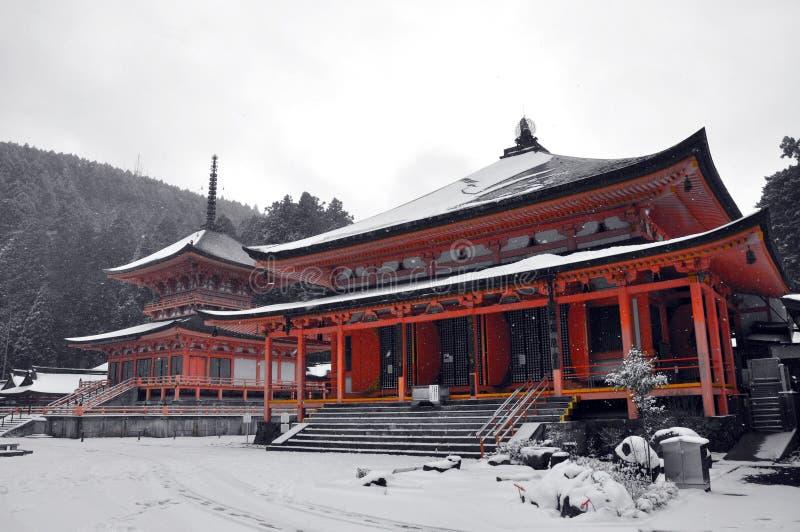 Enryaku -enryaku-ji, Tempel van Hiei stock afbeelding