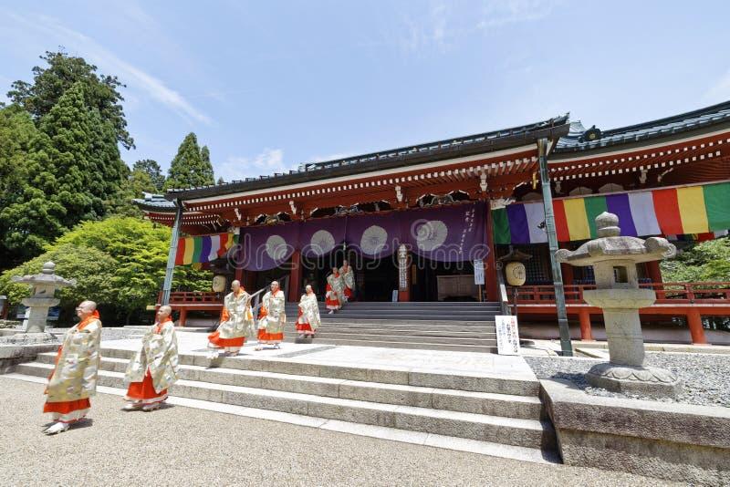 Enryaku-ji royalty free stock photo