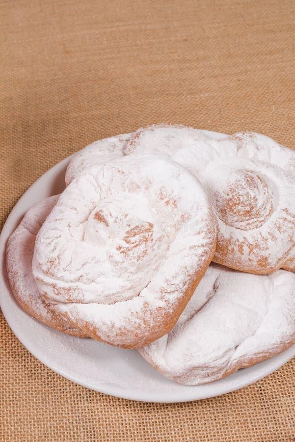 Download Ensaimada cakes stock photo. Image of fresh, sugar, copy - 32372916