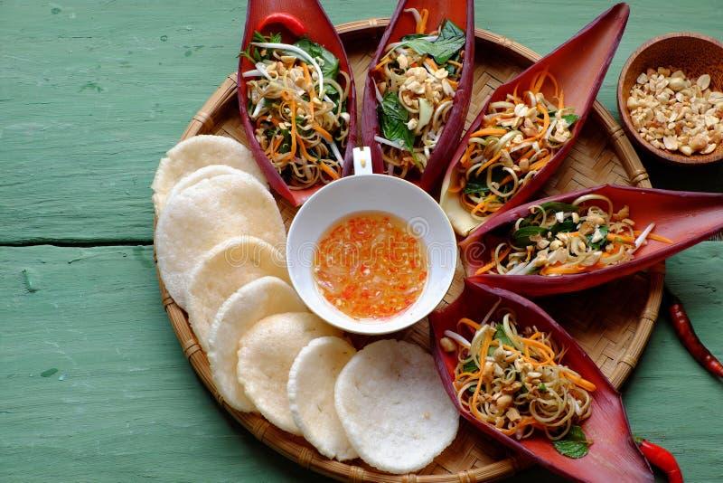 Ensalada de la dieta, comida vegetariana fotografía de archivo libre de regalías