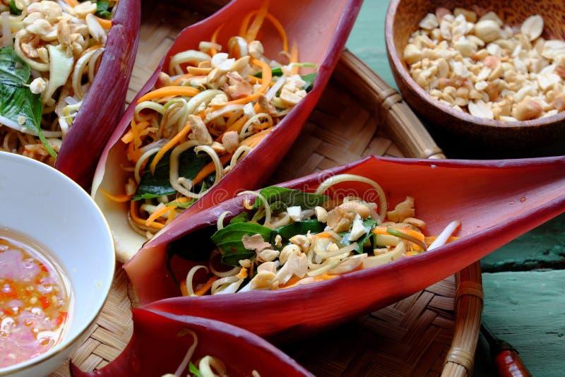 Ensalada de la dieta, comida vegetariana imágenes de archivo libres de regalías